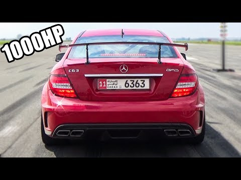 INSANE! MERCEDES C63 AMG WITH 1000HP????