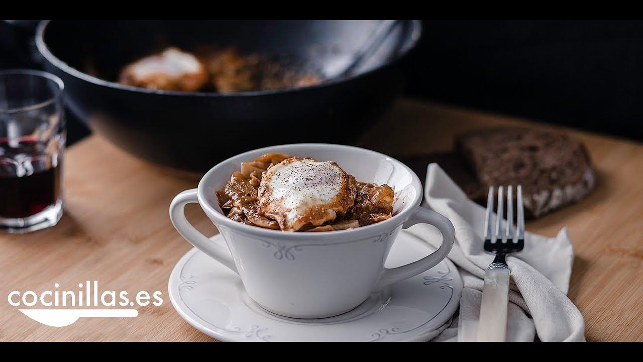Download Col guisada con huevo, receta fácil con pocos ingredientes