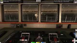 european ship simulator docking a bulk carrier gameplay hd