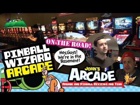 John tours the Pinball Wizard Arcade in Pelham, NH - classic arcade games & pinball machines!