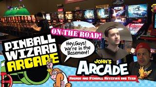 John tours the Pinball Wizard Arcade in Pelham, NH - classic arcade games & pinball machines!