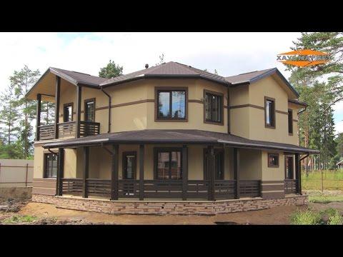 Этапы строительства загородного каркасного дома
