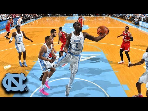 Theo Pinson Gets UNC Started With Dunk Off Opening Tip