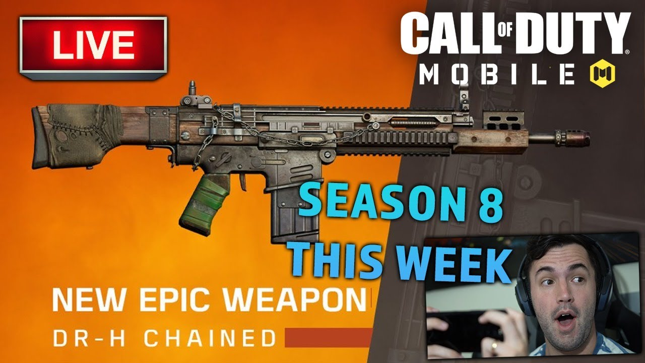 NEW GUN THIS WEEK! Sniping and Ranking in COD Mobile !TROVO