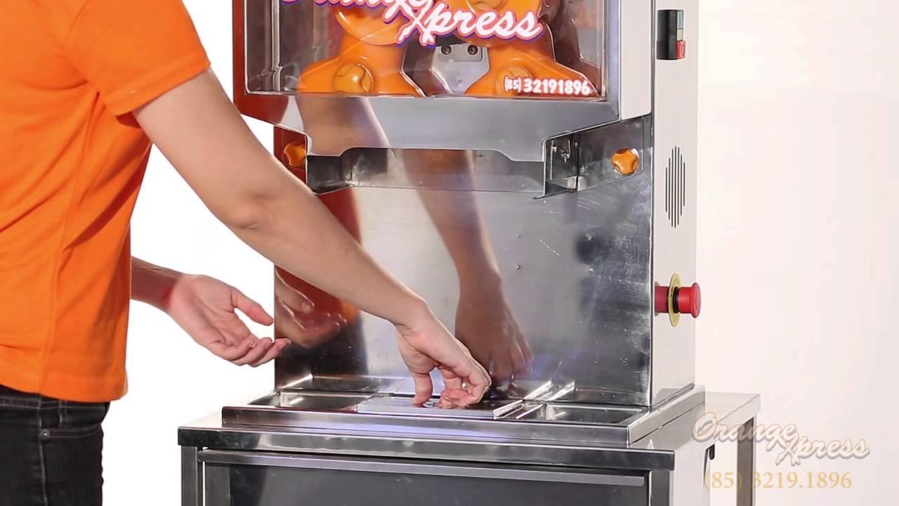 67fbbaec37a OrangExpress - Maquina de Suco de Laranja - YouTube
