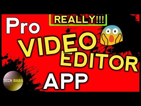 [Hindi-हिंदी] Best Pro Video Editor App For Android