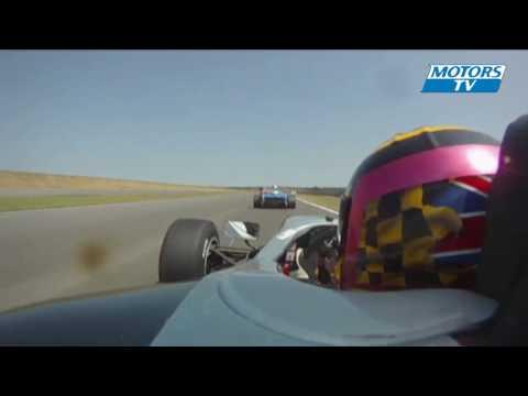 crash in the second Formula Palmer Audi race