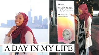 A DAY IN MY LIFE AS A YOUTUBER! | The Ramadan Daily | Aysha Abdul
