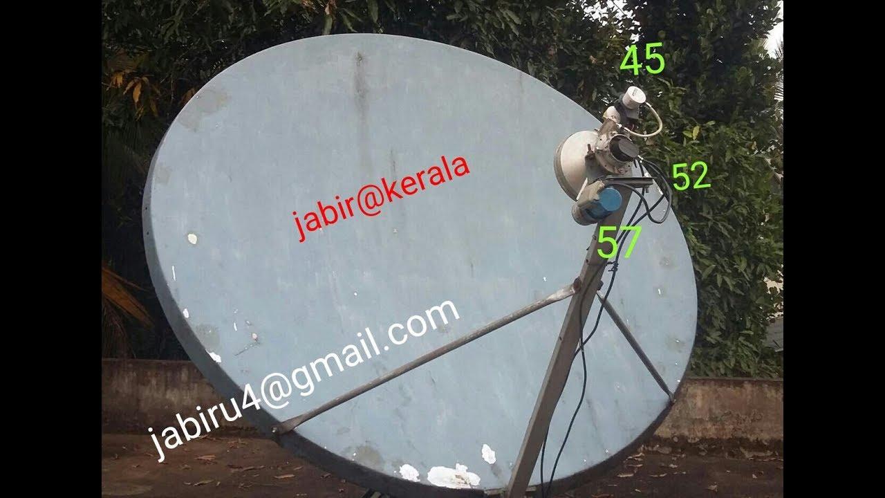 yahsat 52 5 And MonacoSat at 52 0°E channels kerala # jabir kp