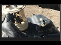 2004 Chrysler Sebring fuel tank pump removal (fuel pump replacement) 1of 2 vid.