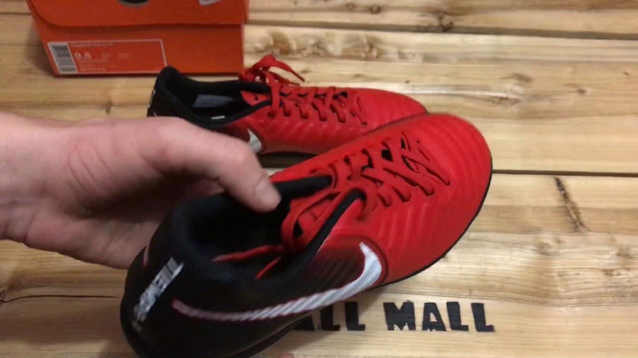 fa2c62040 Обзор Nike TIEMPOX RIO IV TF 897770-616 - YouTube