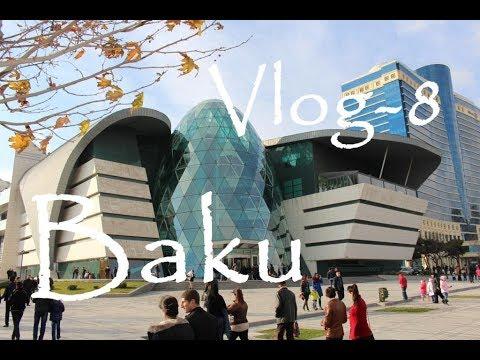 Baku - Genclik Mall - Aliş Veriş Mərkezi - Böyuk Park / Azerbaijan - VLOG-8