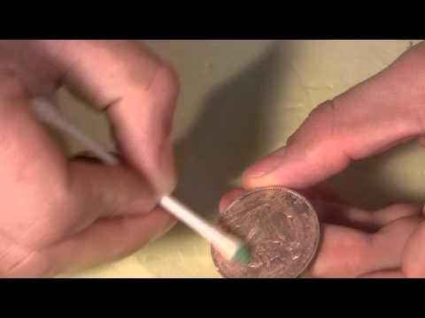 Как почистить медную монету в домашних условиях от черноты