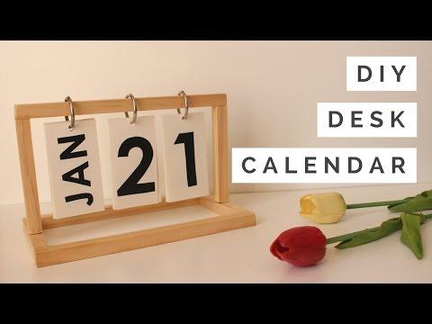 DIY - Desk Calendar