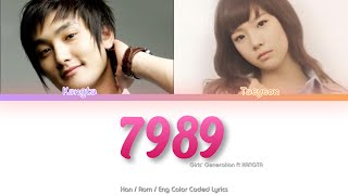 Girls' Generation (소녀시대) TAEYEON – 7989 ft. Kangta Color Cod…