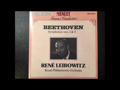 Beethoven Symphony No.2 in D, op.36  -  René Leibowitz / Royal Philharmonic Orchestra