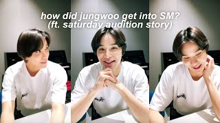 How NCT Jungwoo got into SM Entertainment (Saturday Audition Story)