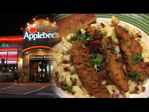 Applebees Four Cheese Mac and Honey Pepper Chicken Tenders Review  |  HellthyJunkFood