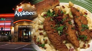Applebees Four Cheese Mac and Honey Pepper Chicken Tenders Review    HellthyJunkFood