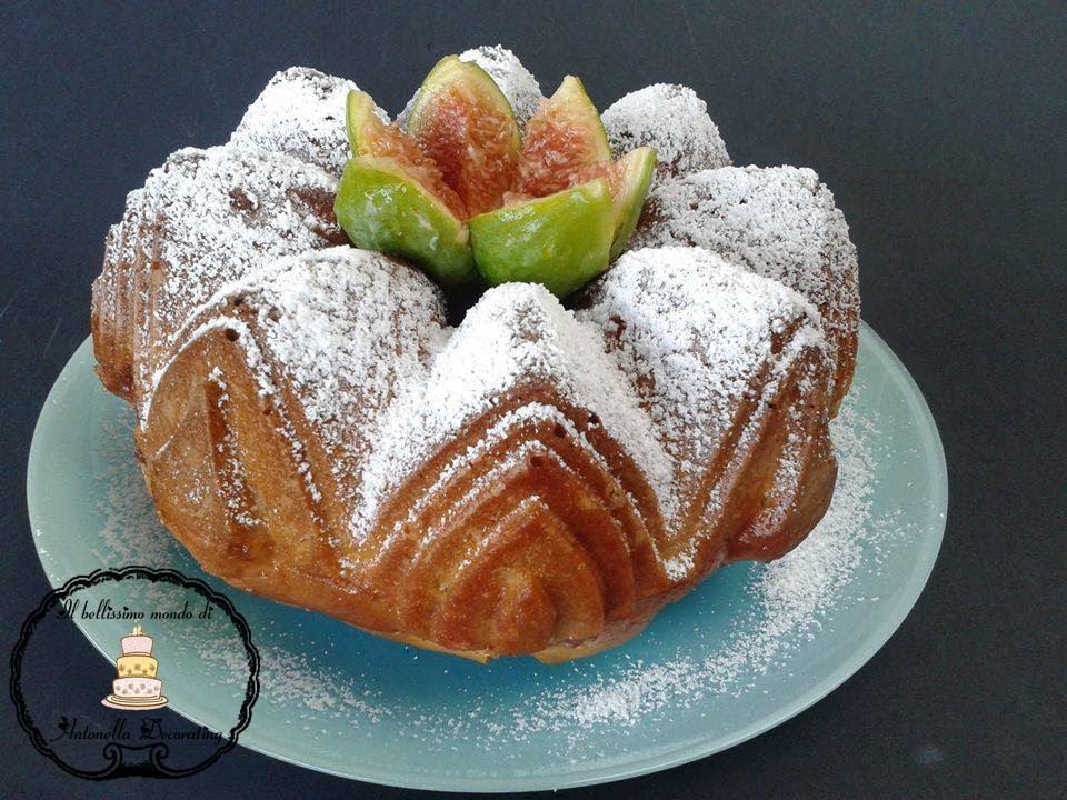 Torta soffice con fichi ricetta irresistibile youtube for Dolci e ricette