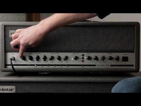 Blackstar Silverline Deluxe 100 Watt Head Demo