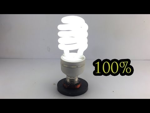 New Technology Free Energy Generator Using Magnet 100%