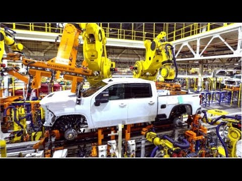 2020 Chevrolet Silverado Production  Heavy Duty Trucks
