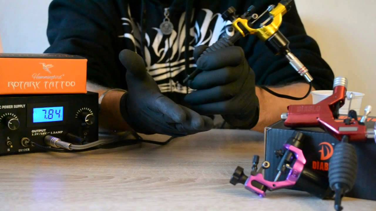 Fredimix tattoo machines rotatives reglables en francais for How much is a tattoo removal machine