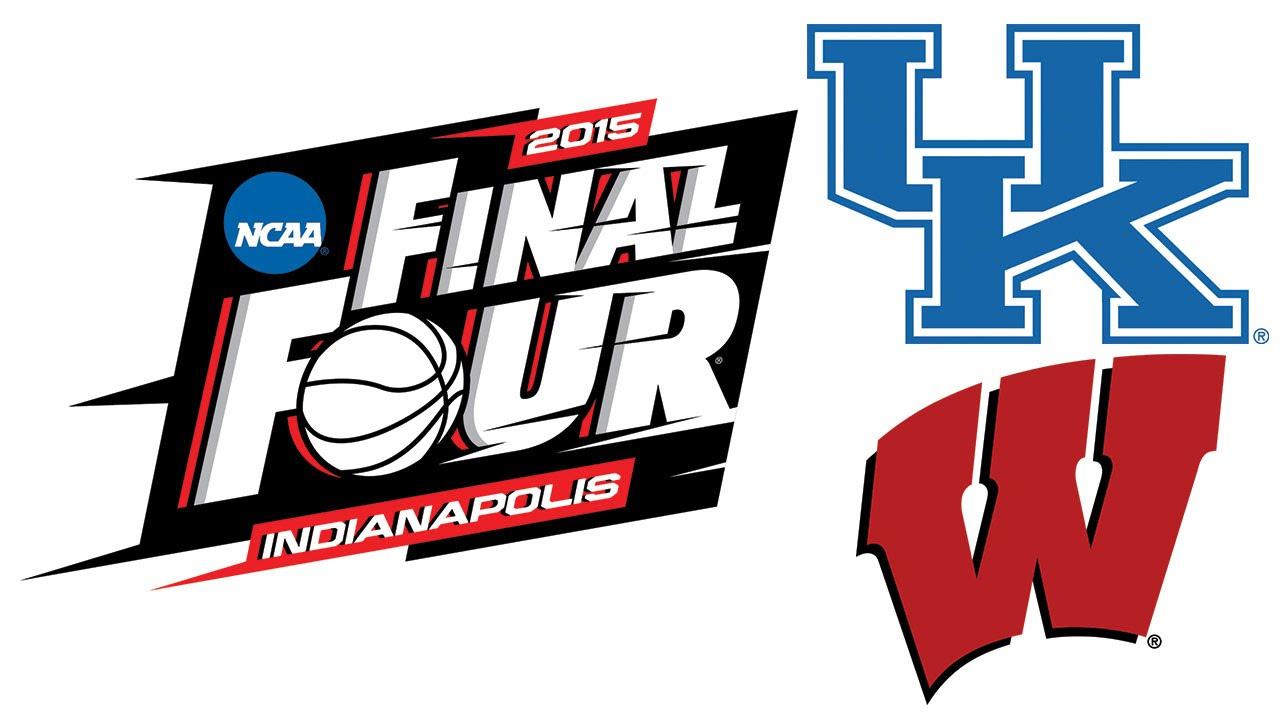 NCAA Basketball - Kentucky Wildcats vs Wisconsin Badgers ...