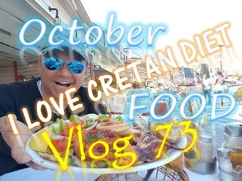 I LOVE CRETAN DIET ! Chania Crete October Food Vlog 73