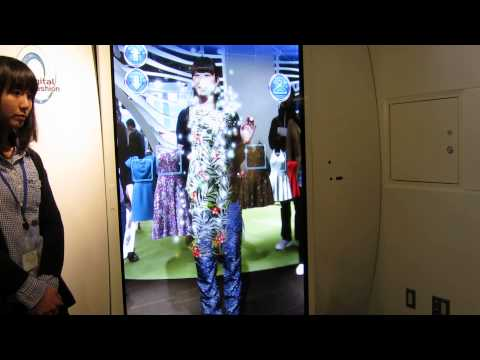 Digital Dressing Room - Grand Front Osaka - aJapanesDream.com