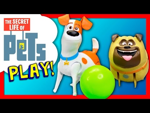 SECRET LIFE of PETS Max and Mel Go to the Dog Park