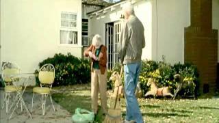 Skittles Retired couple kick