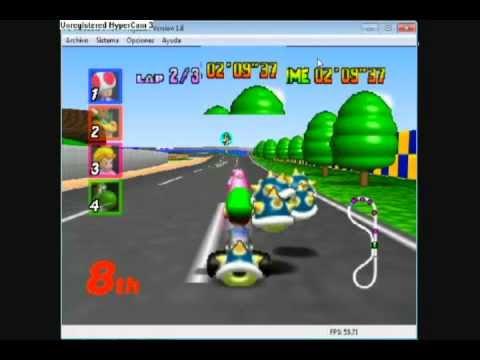 Mario Kart 64 Truco: Objetos Infinitos