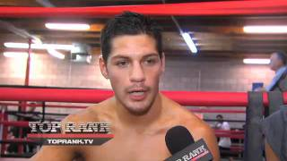Diego Magdaleno Interview
