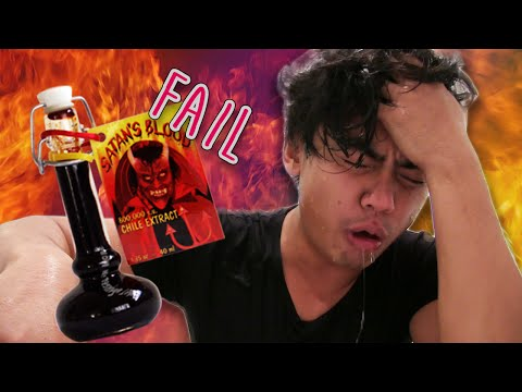 Thumbnail: Extreme Hot Sauce Challenge FAIL! | Would You Rather?