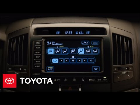 2009 Land Cruiser How-To: Set the Temperature   Toyota