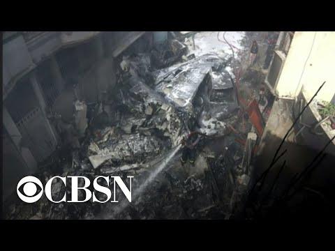 Deadly passenger plane crash in Karachi, Pakistan