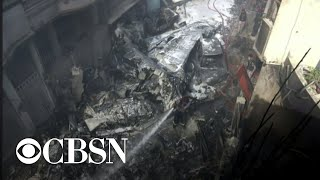 Deadly Passenger Plane Crash In Karachi, Pakistan
