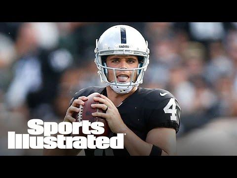 Oakland Raiders quarterback Derek Carr   Rising Stars   Sports Illustrated