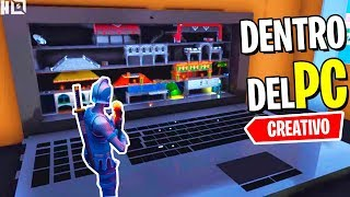DENTRO DEL PC! MINIJUEGO | FORTNITE CREATIVO | Snipers VS Corredores