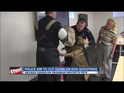 Arvada police aim to cut down on dog shootings