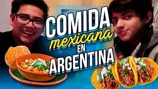 PROBANDO COMIDA MEXICANA EN ARGENTINA FT HAROLD AZUARA - RAMIRO