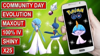 BEST Pokemon Go 100% iv Shiny Ralts Maxout & Evolutions X25 all 100%