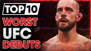 10 WORST UFC Debuts