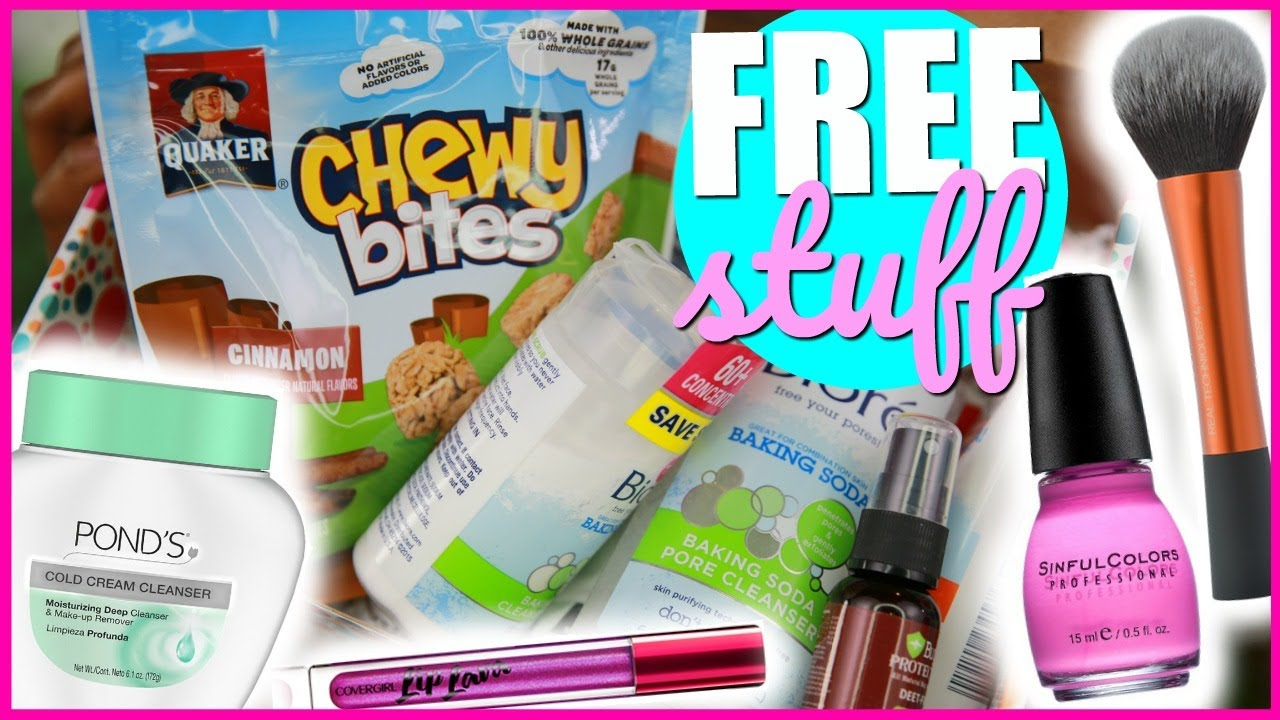 HOW TO GET FREE MAKEUP & BEAUTY STUFF! - YouTube