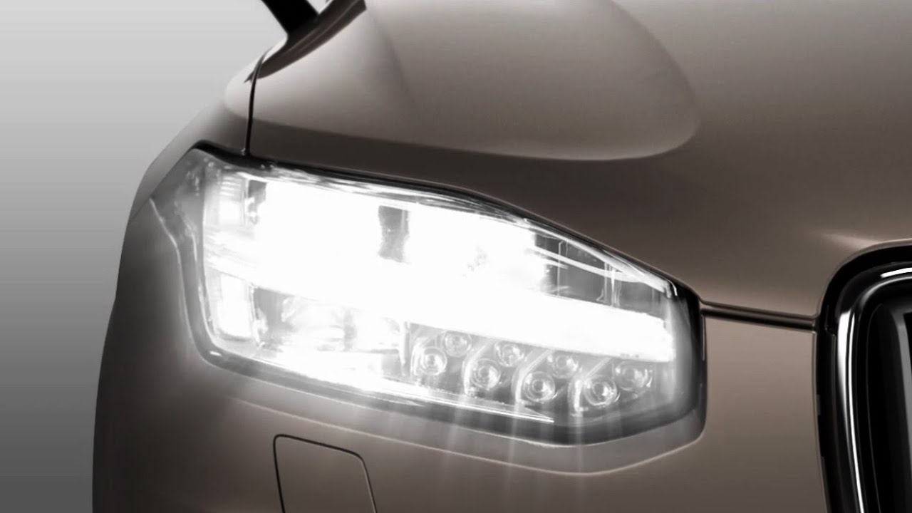 2015 Volvo XC90 - Headlamp Control - YouTube