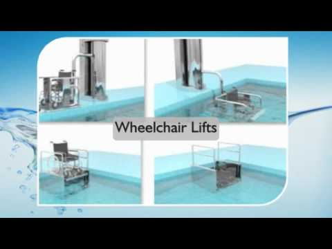 Swimming pool fitness access hoists lifting seats - Swimming pool wheelchair lift law ...