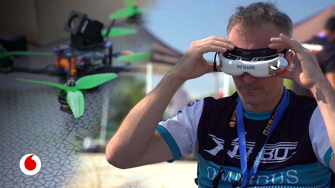 En la élite de las carreras de drones