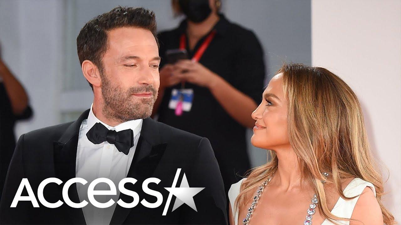 Jennifer Lopez & Ben Affleck's Loved-Up Red Carpet Debut In Venice